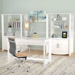 Latitude Run Wentworth 3 Piece Desk Office Suite