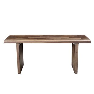 Arness Wood Dining Bench by Foundry Select
