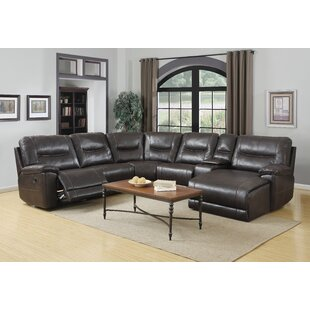 Red Barrel Studio Trower Upholstered Living Room Reclining Sectional