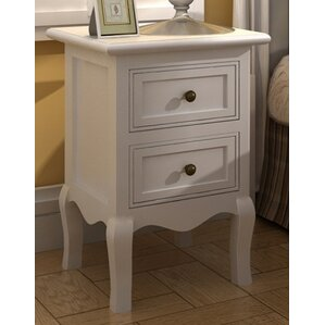2 Drawer Bedside Table (Set of 2)