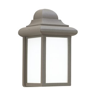 Price comparison Khandare 1-Light Outdoor Wall Lantern By Highland Dunes