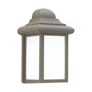 Bargain Khandare 1-Light Outdoor Wall Lantern By Highland Dunes