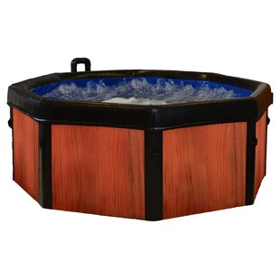 Spa-N-A-Box 5-Person 120-Jet Plug And Play Hot Tub By Comfort Line Products