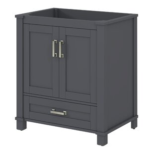 Freestanding Style 30 Single Sink Bathroom Vanity Base by Bello
