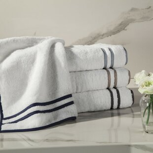 Ribbons Turkish Cotton Bath Towel