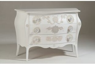 Conte 3 Drawer Chest By Fleur De Lis Living