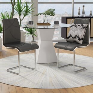 Buy luxury Severo Upholstered Dining Chair (Set of 2) by Orren Ellis Reviews (2019) & Buyer's Guide