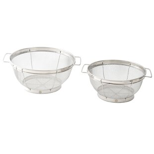 Deveron 2 Piece Colander Set
