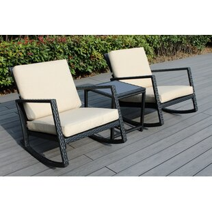 Eita 3 Piece Conversation Set with Cushions