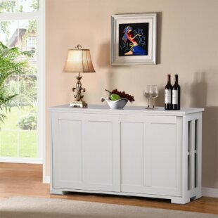 Trinh Kitchen Stackable Buffet Cabinet Storage Sideboard by Winston Porter