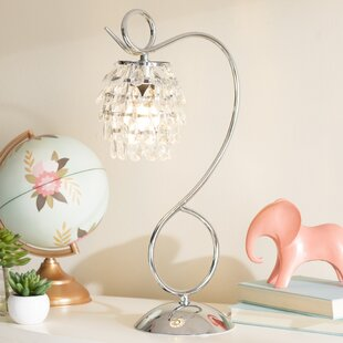 Mario and Crystal Dangle 19.25 Desk Lamp By Viv + Rae