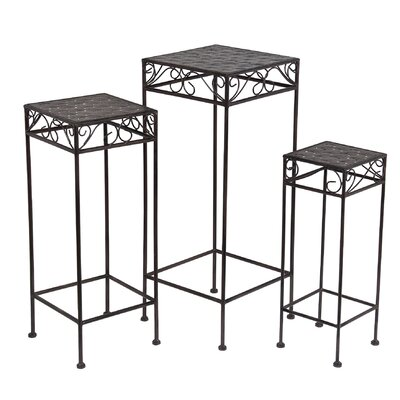 Lark Manor Maellys 3 Piece Nesting Plant Stand Set