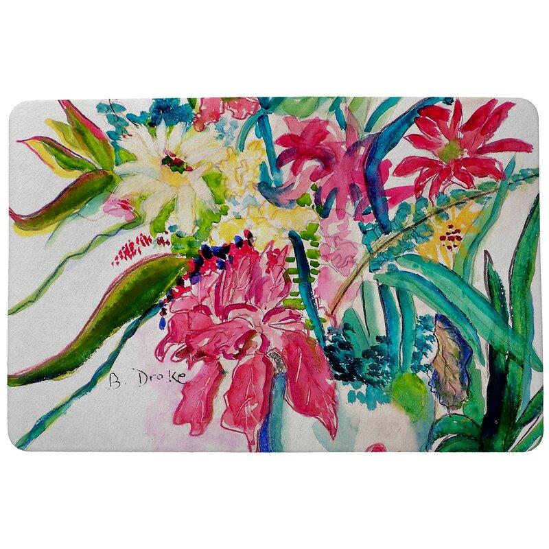 Garden Multi Florals Doormat