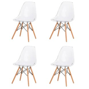 Paula Modern Retro Dining Chair (Set of 4..