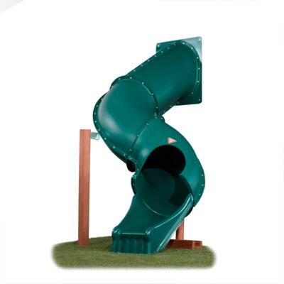 Swing-n-Slide Tunnel Twister Tube Slide for 5' Deck