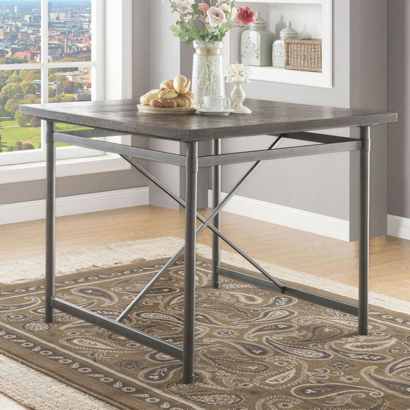 Buenrostro Metal Frame Dining Table Joss Main