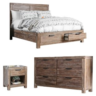 Perez Panel Configurable Bedroom Set
