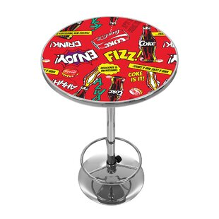 Coca Cola Pop Art Pub Table Trademark Global