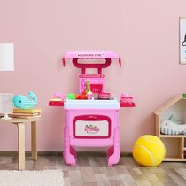 Pink Play Kitchen Sets You Ll Love Wayfair Co Uk
