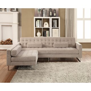 Westwick Buttonless Tufted Sofa and Chaise by Brayden Studio SKU:AA472011 Information