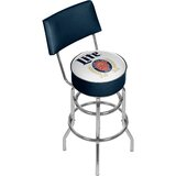 Miller Lite Retro 31 Swivel Bar Stool by Trademark Global
