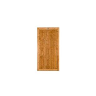 0.91m X 1.82m Wood Featheredge Gate By Symple Stuff