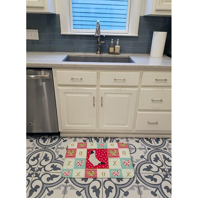 The Holiday Aisle Regnhild Nun Pigeon Love Memory Foam Kitchen Mat Wayfair Ca