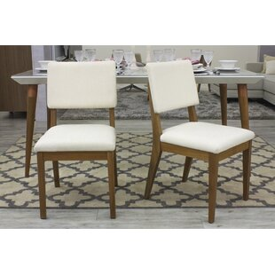 Tauber Upholstered Dining Chair (Set of 2) Union Rustic