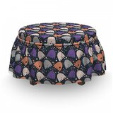 Spooky and Funny Dots Ottoman Slipcover (Set of 2) by East Urban Home