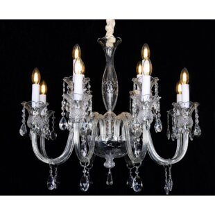 Astoria Grand Rodolfo Glass Arm 12-Light ..