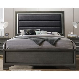 Ebern Designs Alexandro Upholstered Panel Bed