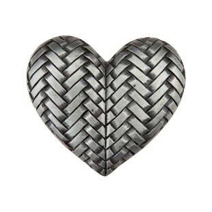 Woven Heart Novelty Knob