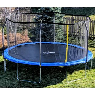 AirZone Play Backyard Jump 15' Round Trampoline with Safety Enclosure