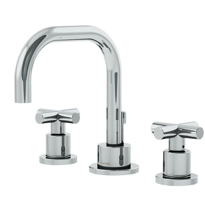 Dia Widespread Standard Bathroom Faucet Double Cross Handle