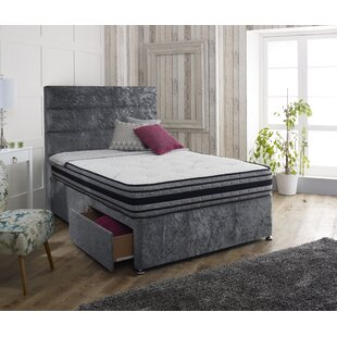Hyde Upholstered Divan Bed And Headboard By Rosdorf Park