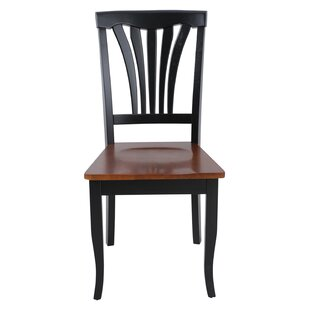 Red Barrel Studio Jesenof Solid Wood Dining Chair