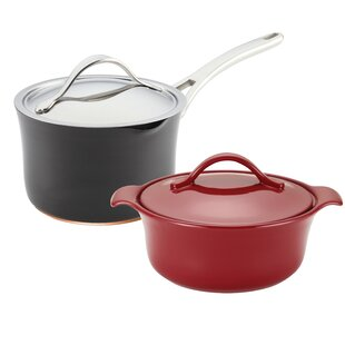 all clad pasta pot. Nouvelle Copper 4-Piece Non-Stick Starter Cookware Set All Clad Pasta Pot