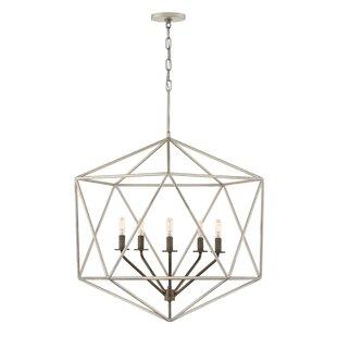 Astrid Indoor 5-Light Geometric Chandelier by Hinkley Lighting