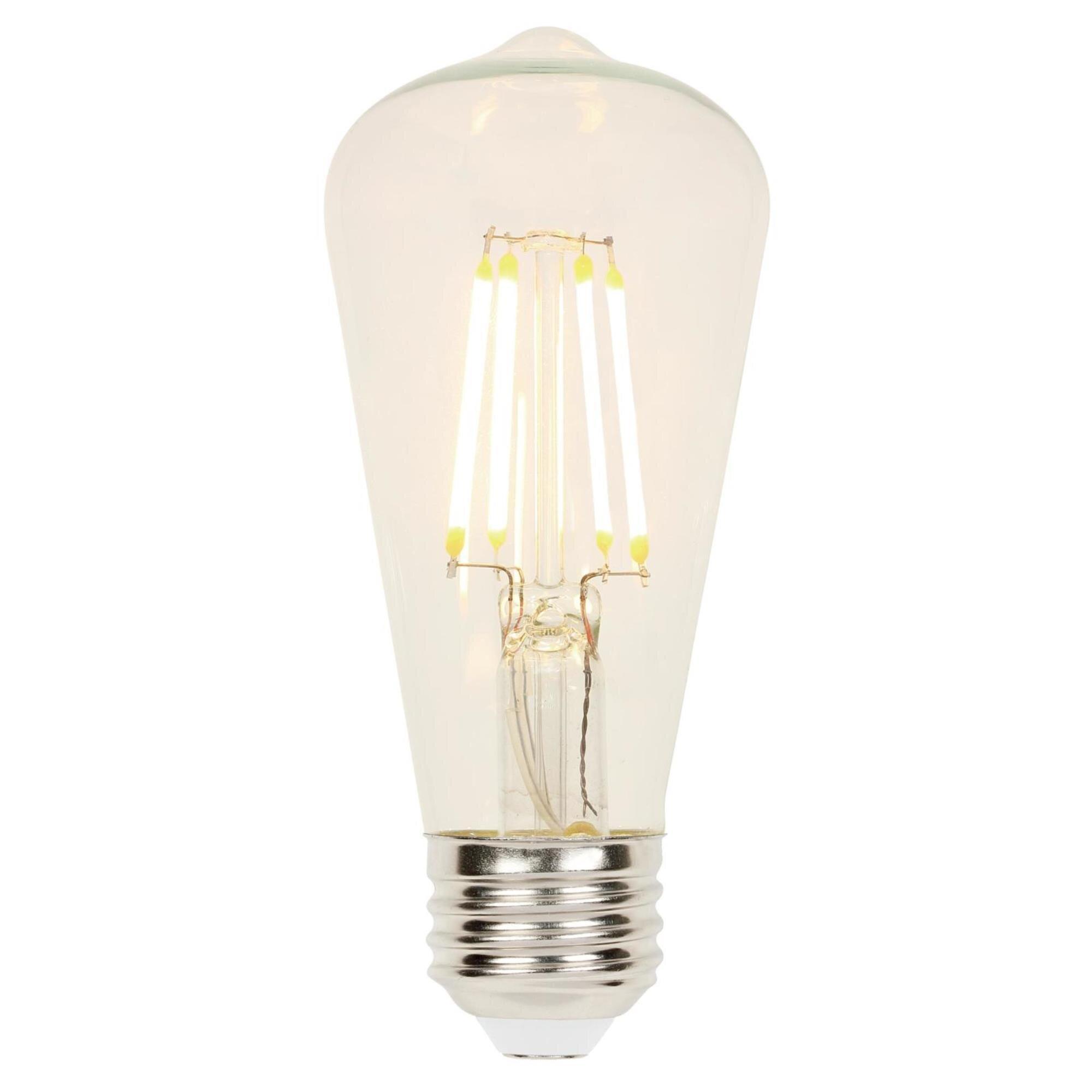 Westinghouse Lighting 60 Watt Equivalent Led Dimmable Light Bulb Warm White 2700k E26 Base Reviews Wayfair