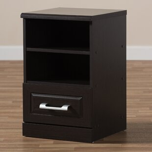 Homerville 1 Drawer Nightstand by Ebern Designs