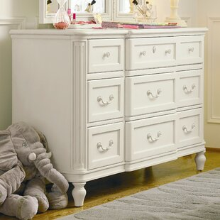 Marci 8 Drawer Wood Dresser
