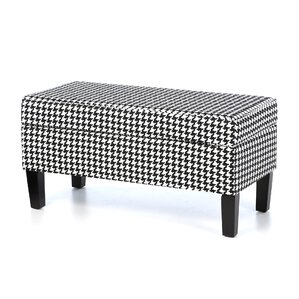 Bernice Cotton Storage Ottoman by One Allium Way