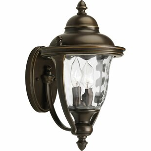 Alcott Hill Triplehorn 2-Light Traditional Sconce