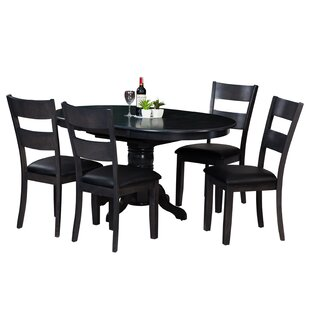 Maryrose 5 Piece Wood Dining Set