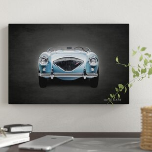 '1956 Austin-Healey 100 LeMans' Graphic Art Print on Canvas By East Urban Home