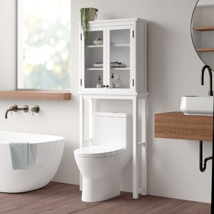 Carruthers 68.58cm X 167.64cm Over The Toilet Cabinet By Blue Elephant