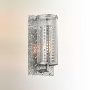 Best Reviews Ephraim 1-Light Outdoor Sconce By 17 Stories