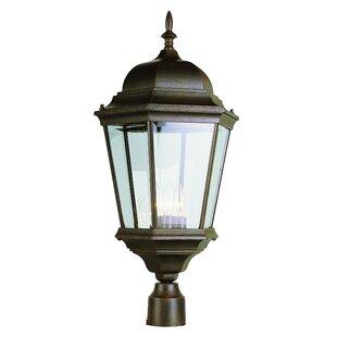 Claremont 3-Light Lantern Head by Sol 72 Outdoor