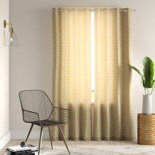 semi opaque curtains wayfair rh wayfair com