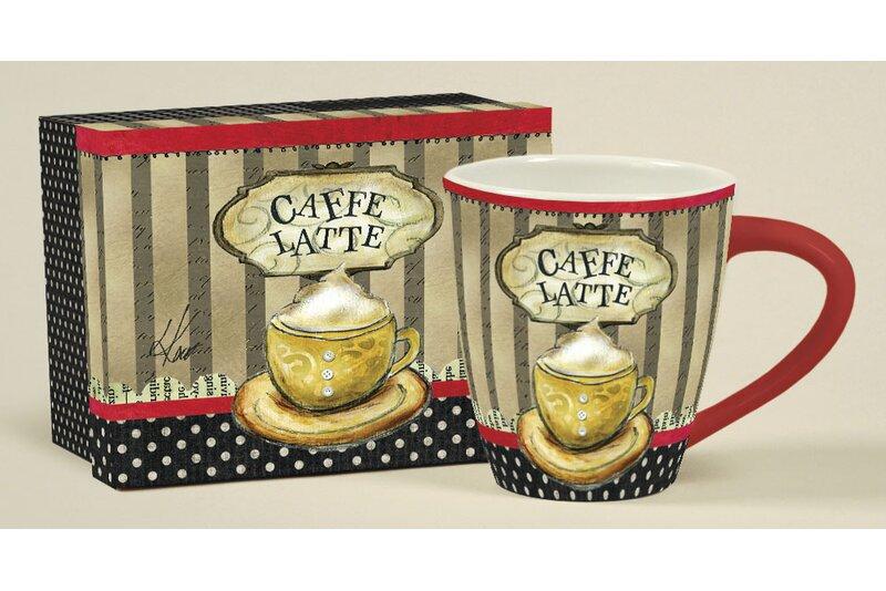 17 Oz Coffee Time Café Mug